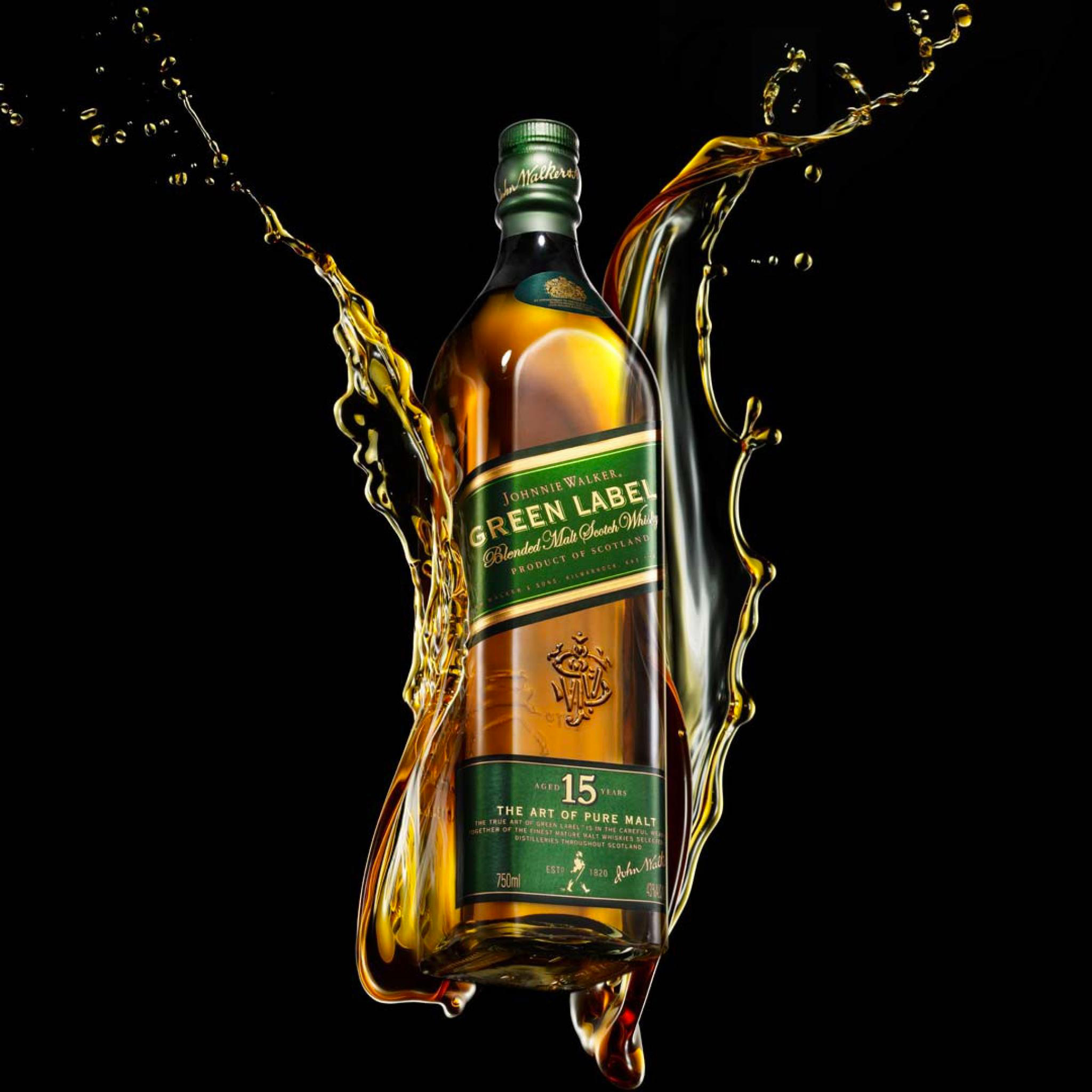 Green Alcohol Drink Johnnie Walker 3Wallpapers iPad Retina Johnnie Walker   iPad Retina