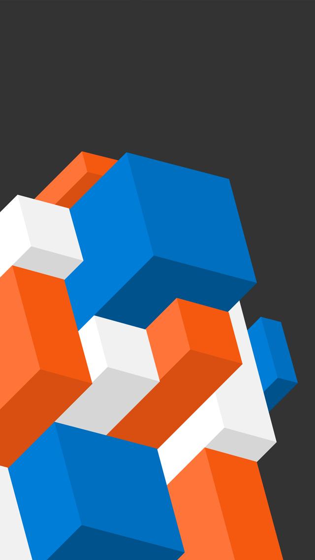 Isometric 3Wallpapers iPhone 5 Isometric