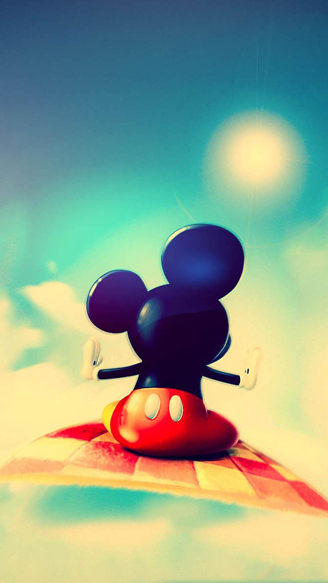 Cute Mickey Mouse 3Wallpapers iPad Retina Cute Mickey Mouse