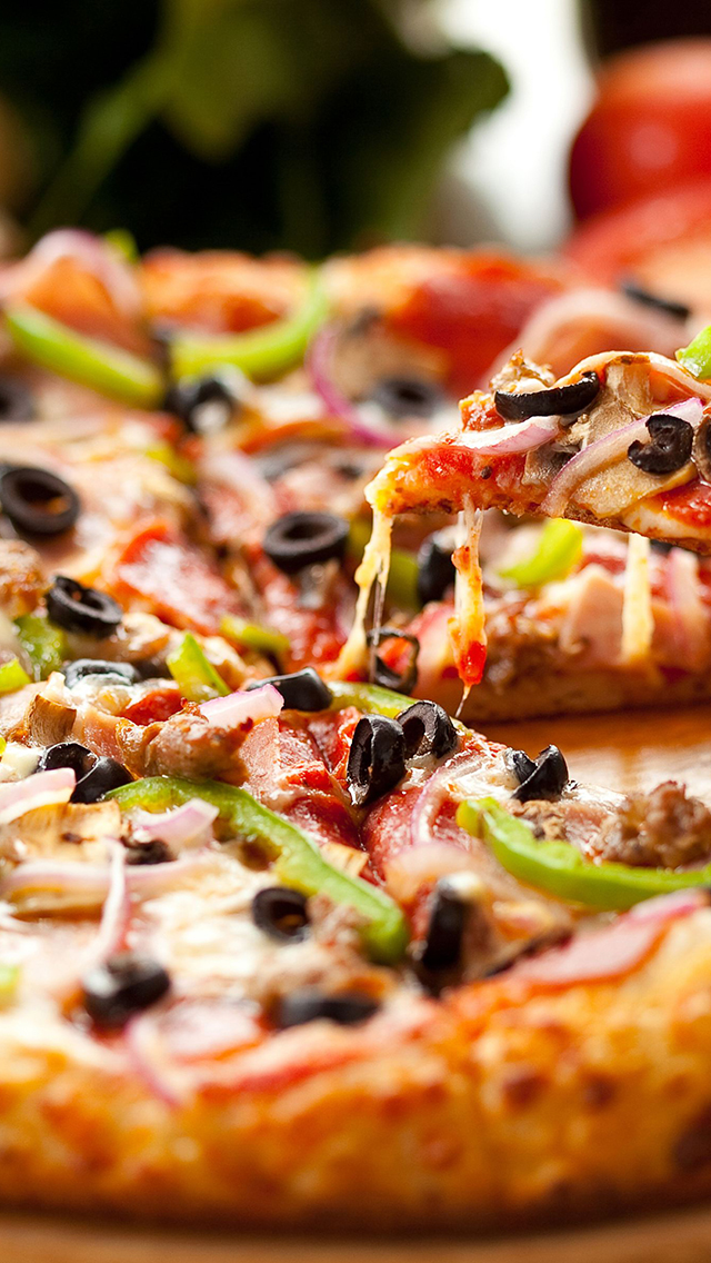 Pizza Food 3Wallpapers iPhone 5 Pizza Food