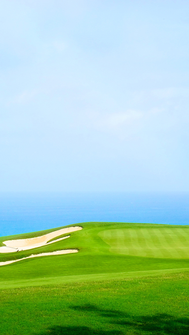 Golfing in Paradise 3Wallpapers iPhone 5 Golfing in Paradise