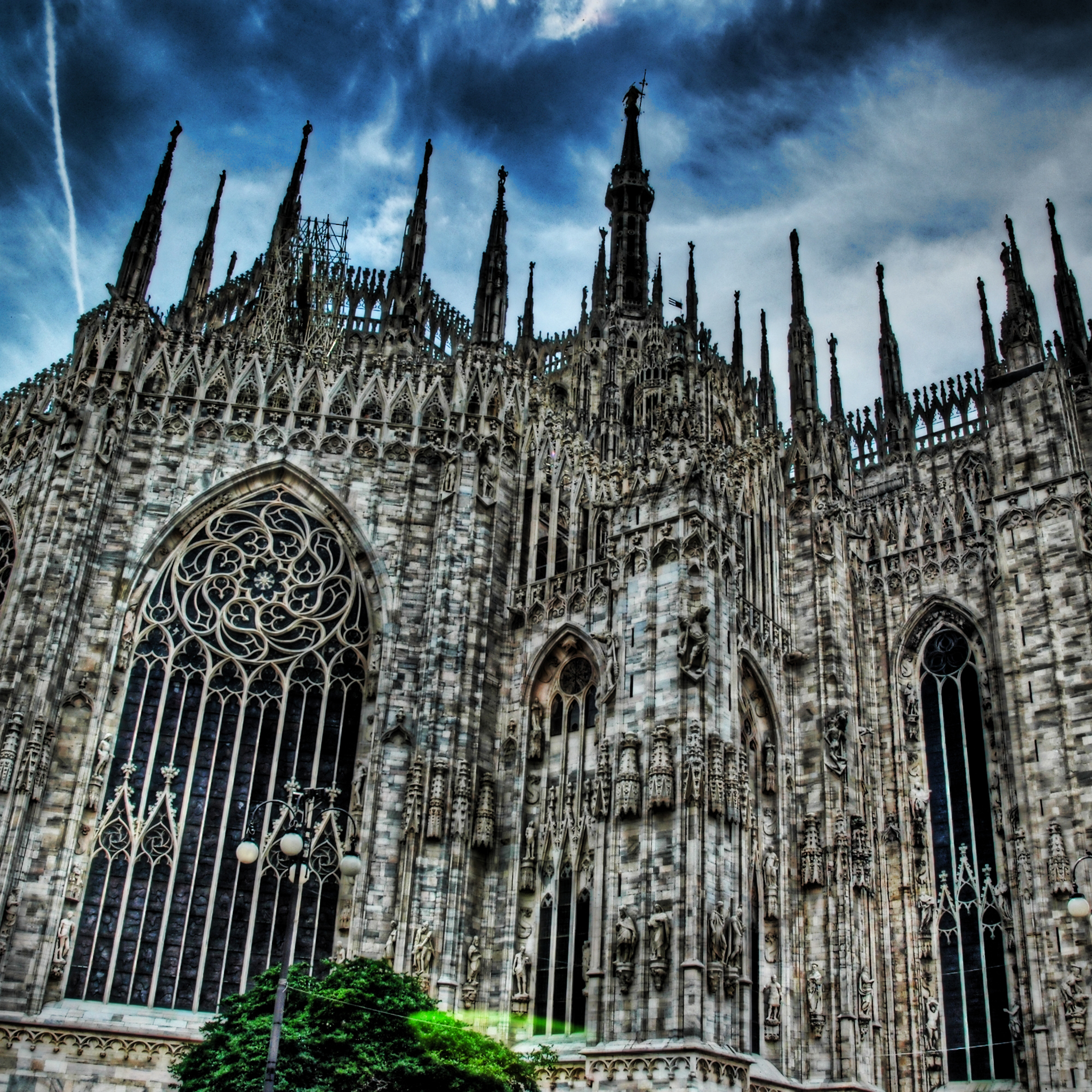 Milan Cathedral Gothic Church 3Wallpapers iPad Retina Milan Cathedral Gothic Church   iPad Retina