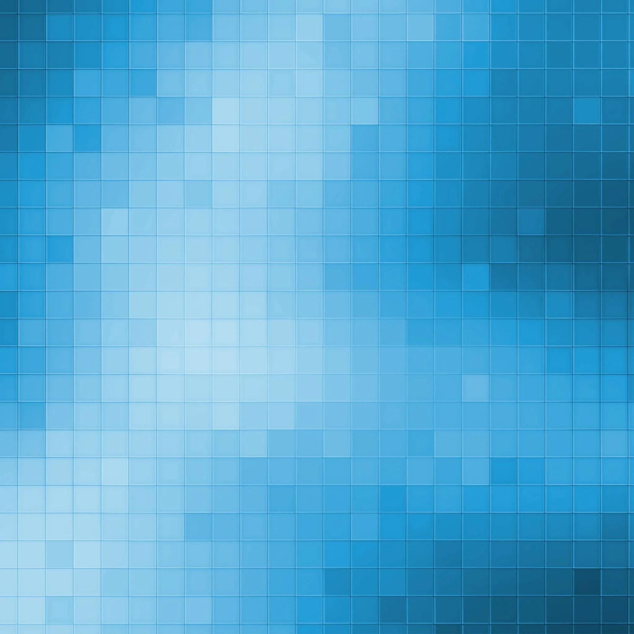Blue Pixels 3Wallpapers iPad Blue Pixels   iPad
