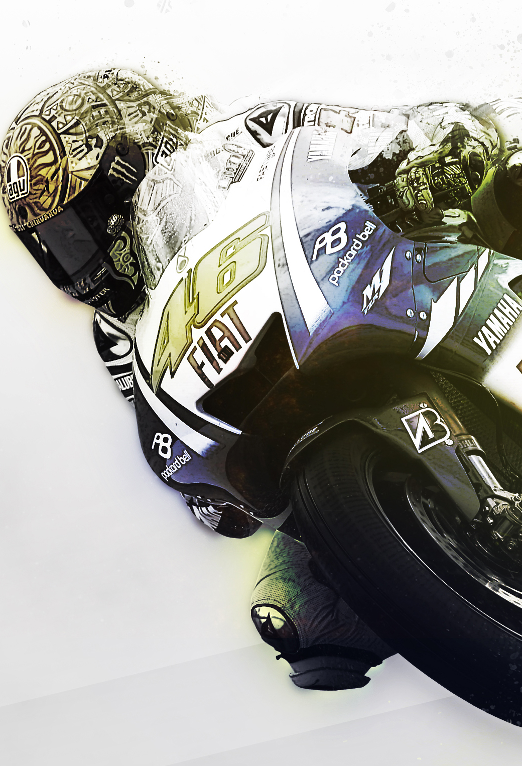 Rossi wallpaper by MateToth 3Wallpapers iPhone Rossi by MateToth