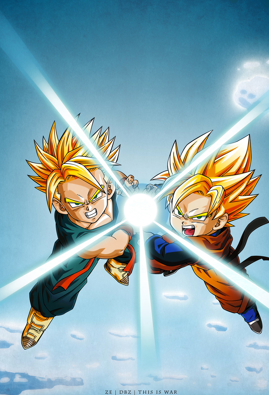 Dragon Ball Z Wallpapers 3Wallpapers iPhone Parallax Dragon Ball Z   iPhone Parallax