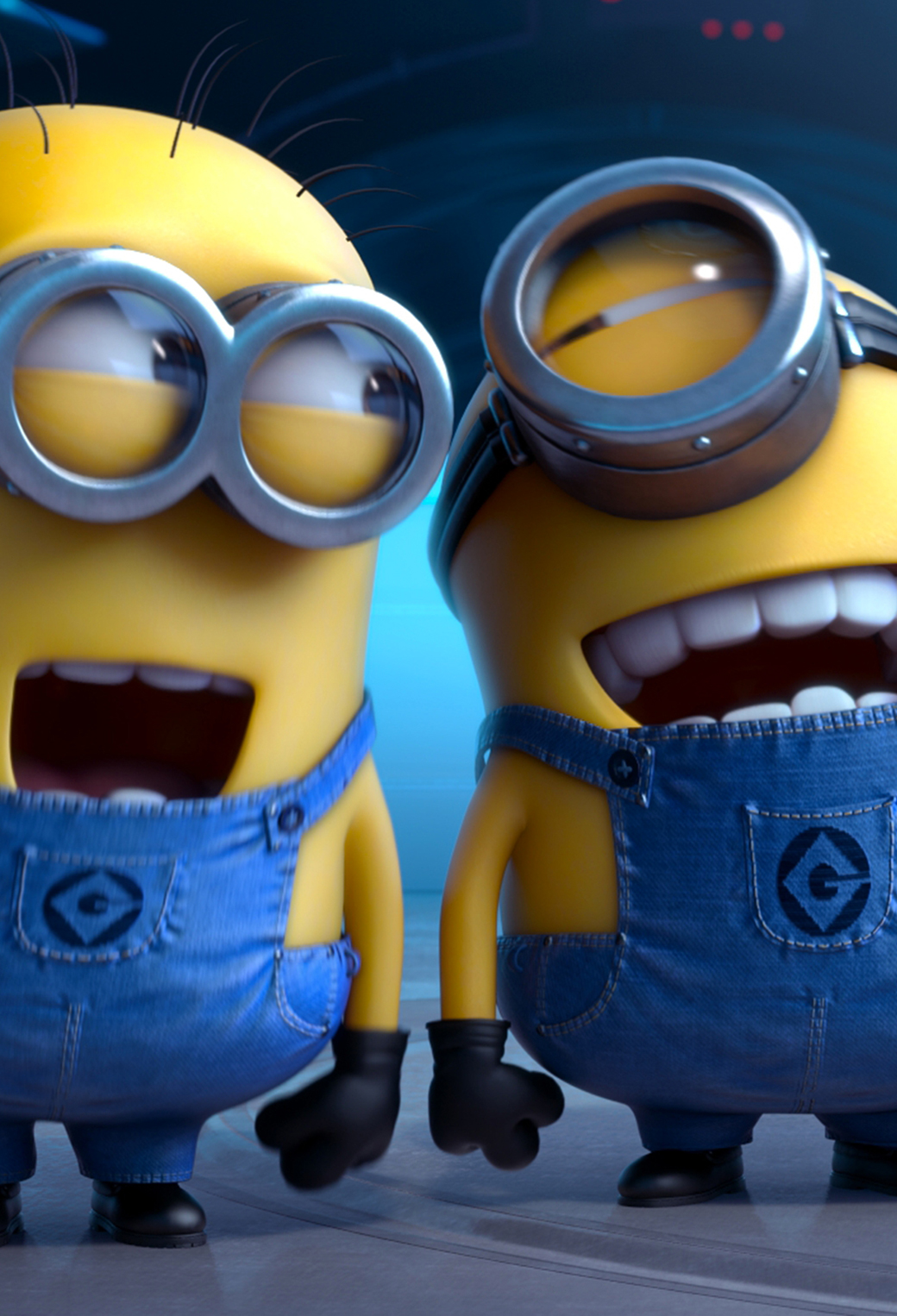 Despicable Me 2 Laughing 3Wallpapers iPhone Parallax Despicable Me 2 Laughing