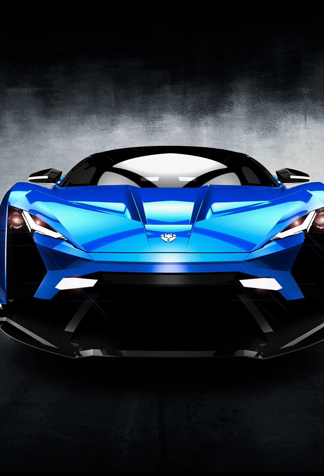 Blue W Motors Supersport 3Wallpapers iPhone Parallax Blue W Motors Supersport
