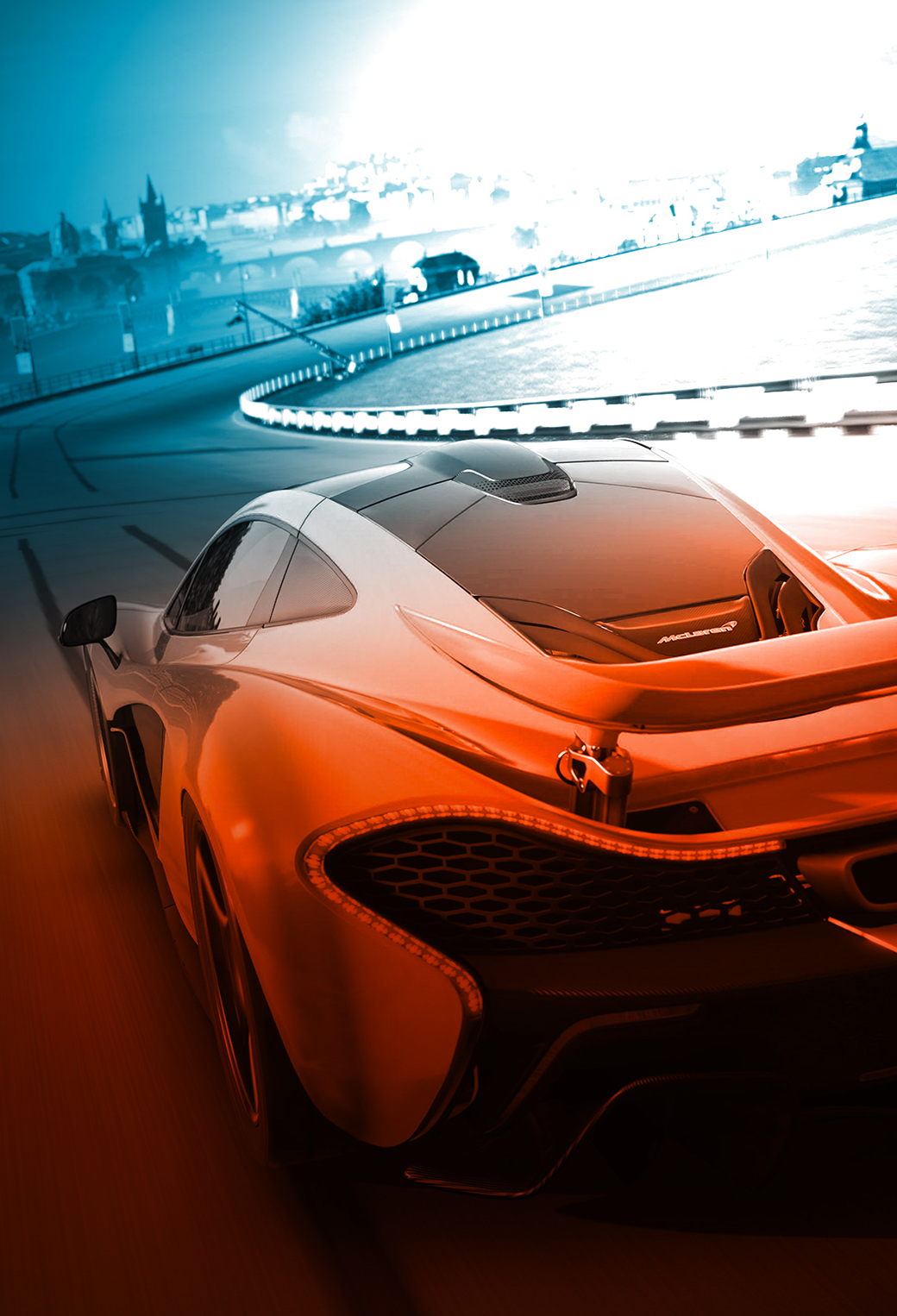 McLaren 3Wallpapers iPhone Parallax McLaren