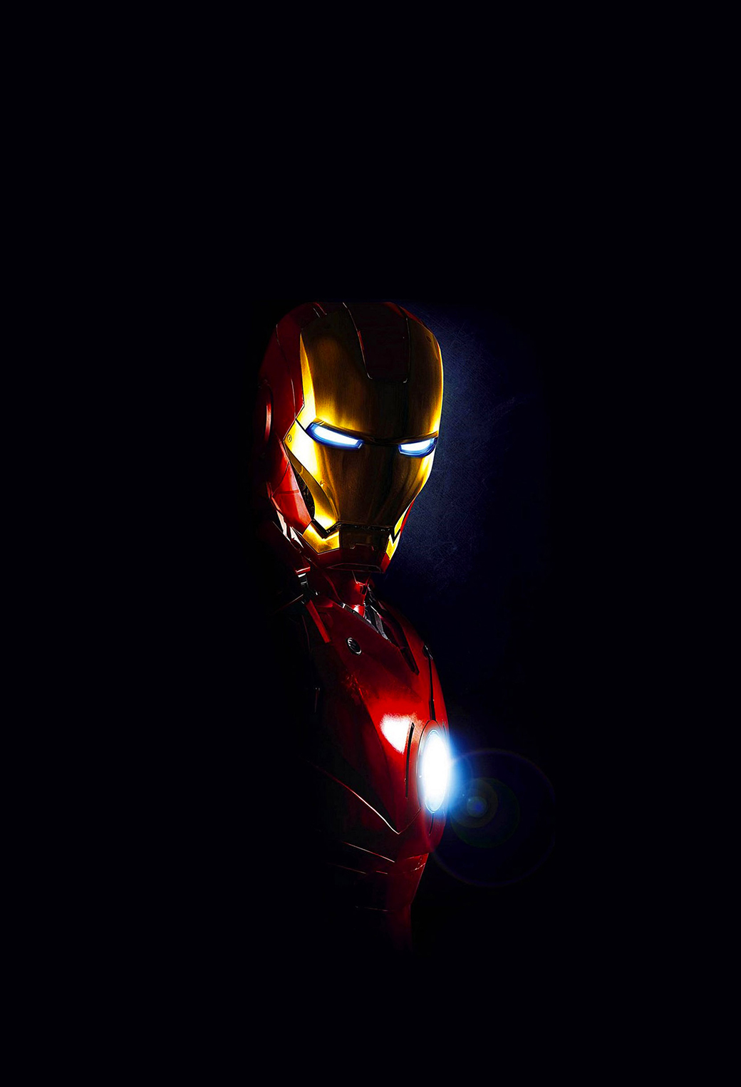 Iron Man in dark3Wallpapers iPhone Parallax Iron Man in Dark