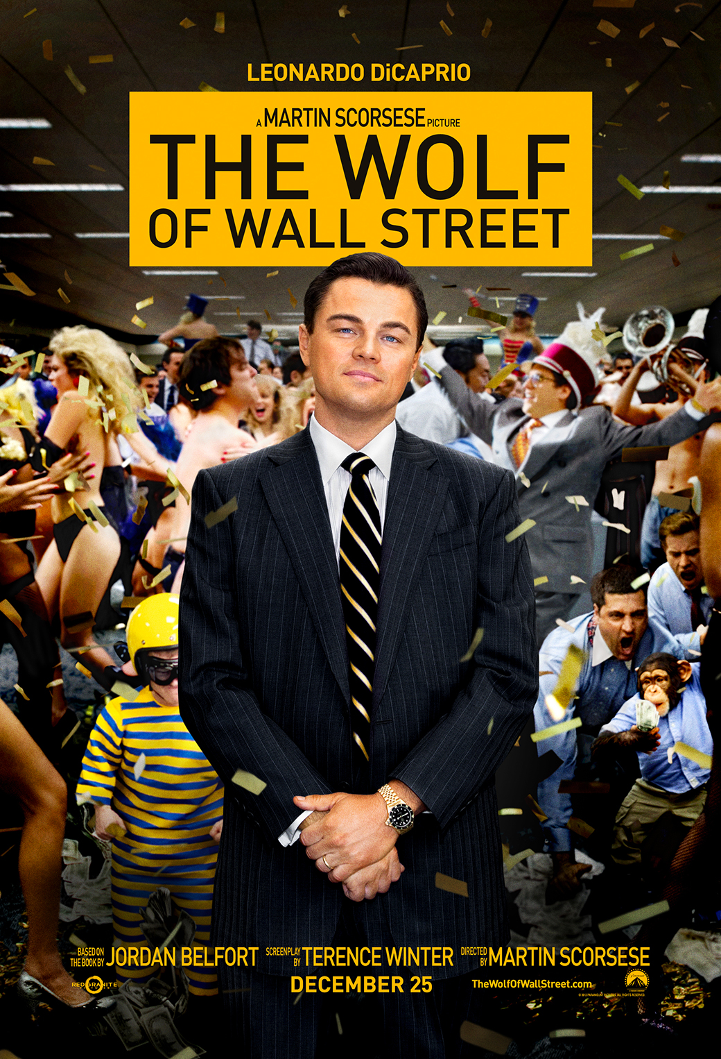 The Wolf Of Wall Street 3Wallpapers iphone Parallax The Wolf Of Wall Street