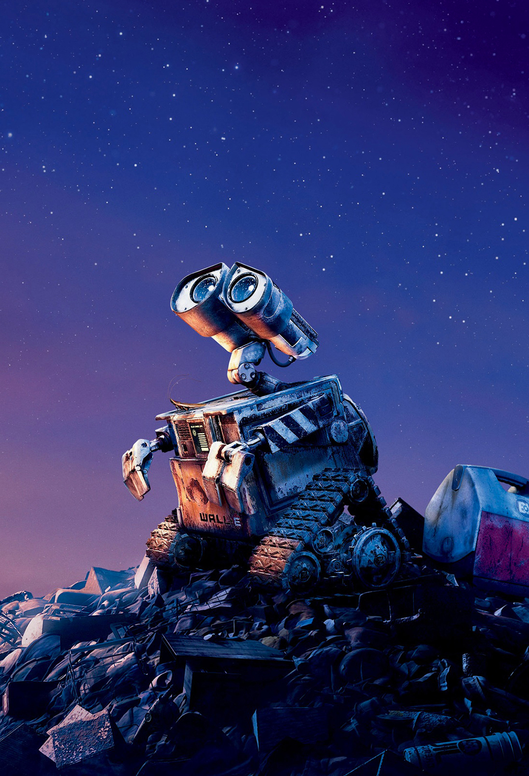Wall E on Earth 3Wallpapers iPhone parallax Wall E on Earth