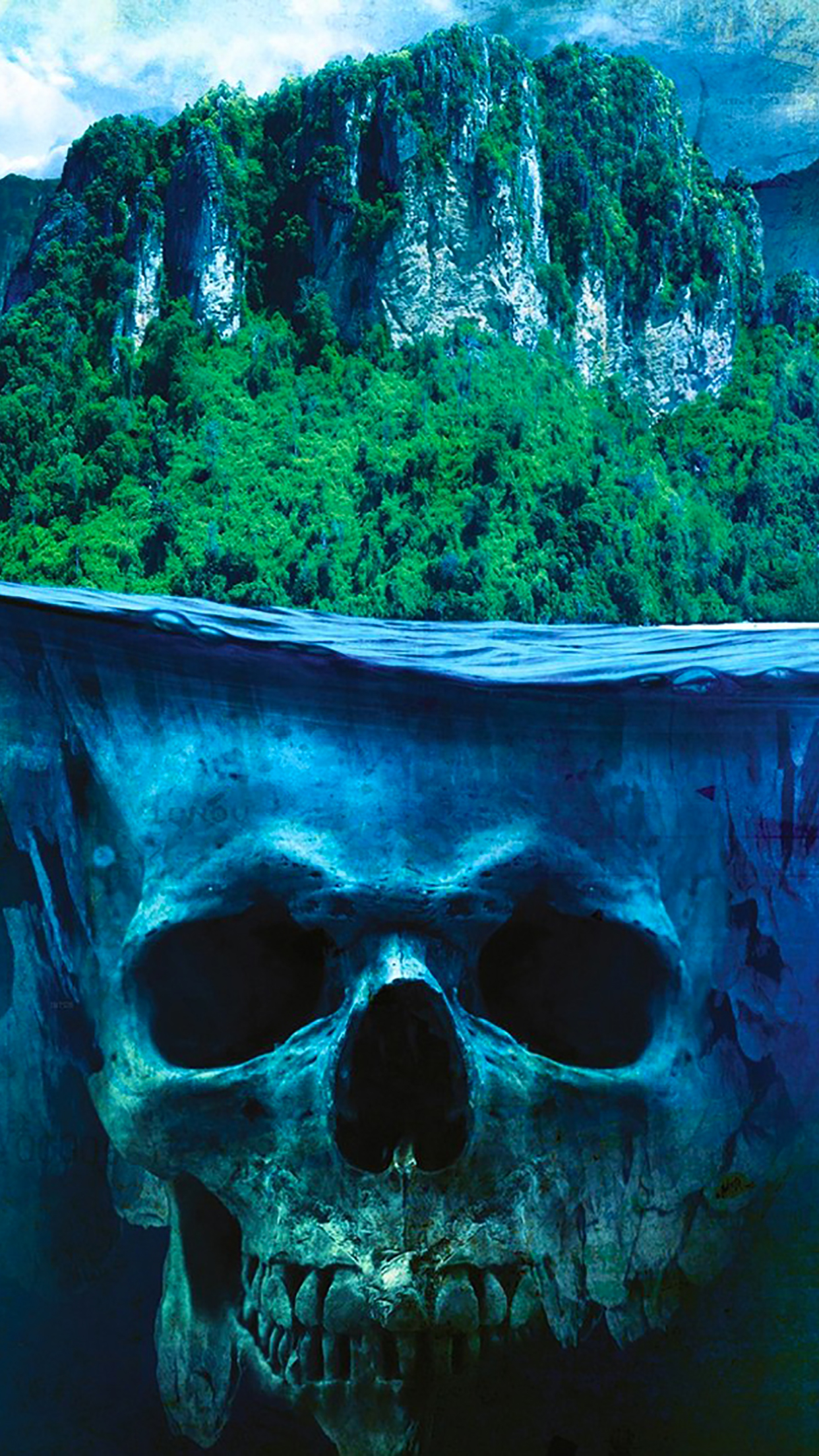 Far Cry skull iPhone 3Wallpapers Parallax Far Cry skull