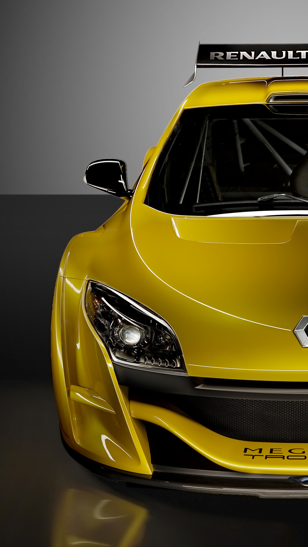 Megane Trophy iPhone 3Wallpapers Parallax Megane Trophy