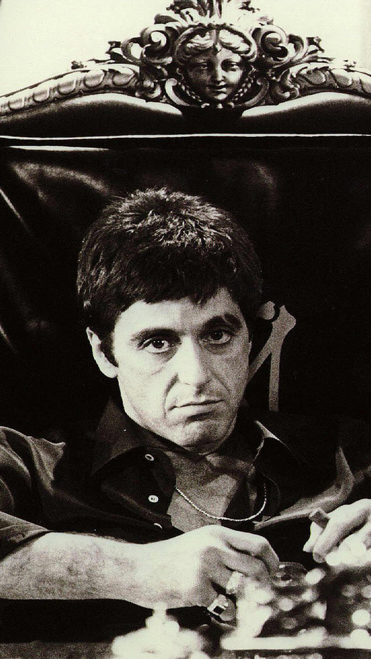 Scarface movie iPhone Parallax 3Wallpapers Scarface movie