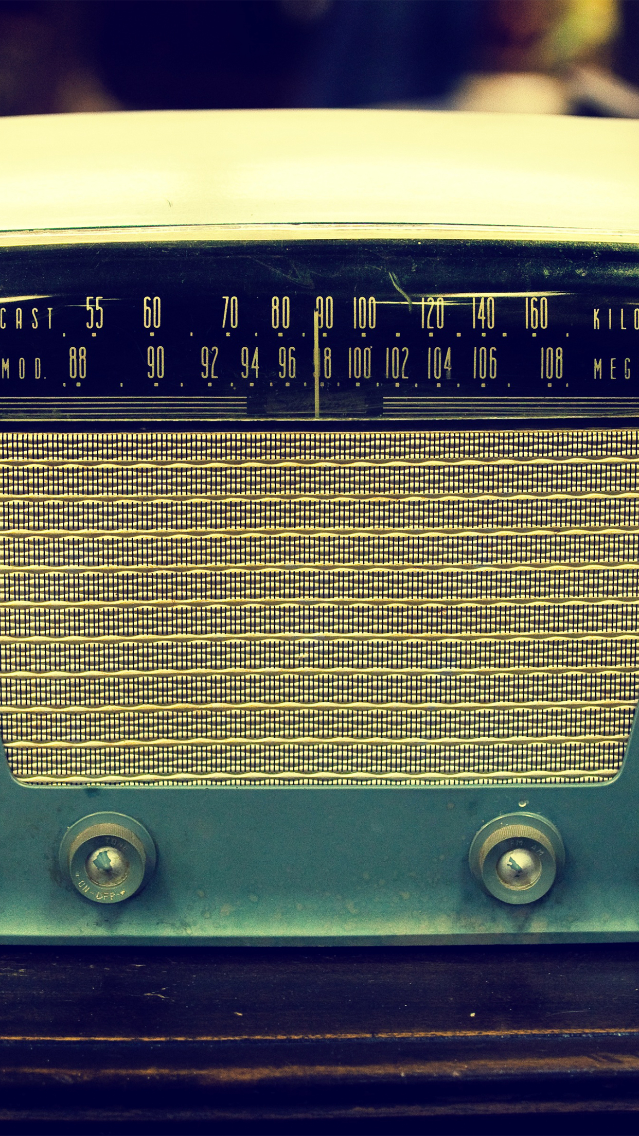 Vintage Radio iPhone Parallax 3Wallpapers Vintage Radio