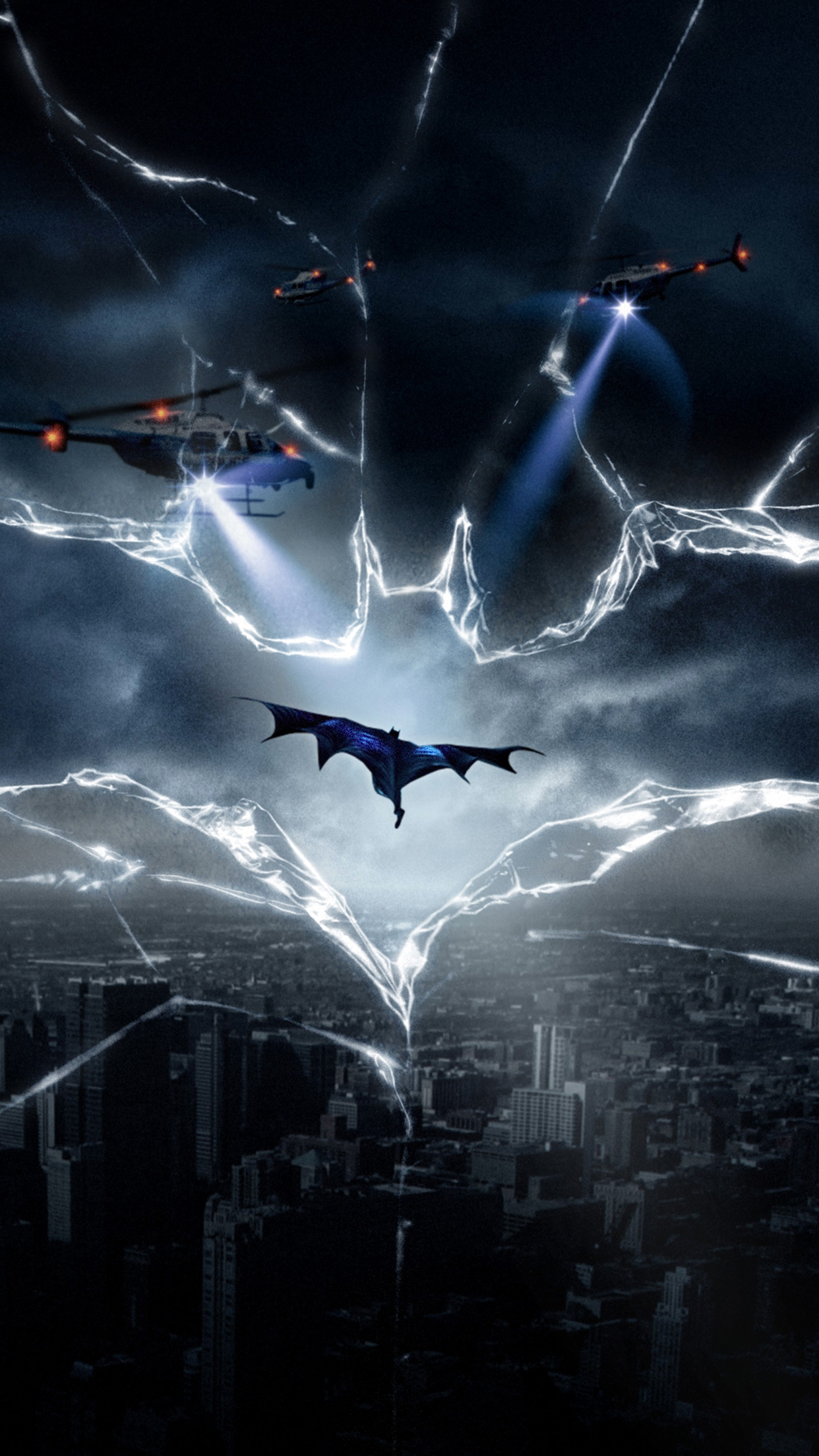 batman helicopters iPhone 3Wallpapers Parallax  Batman helicopters