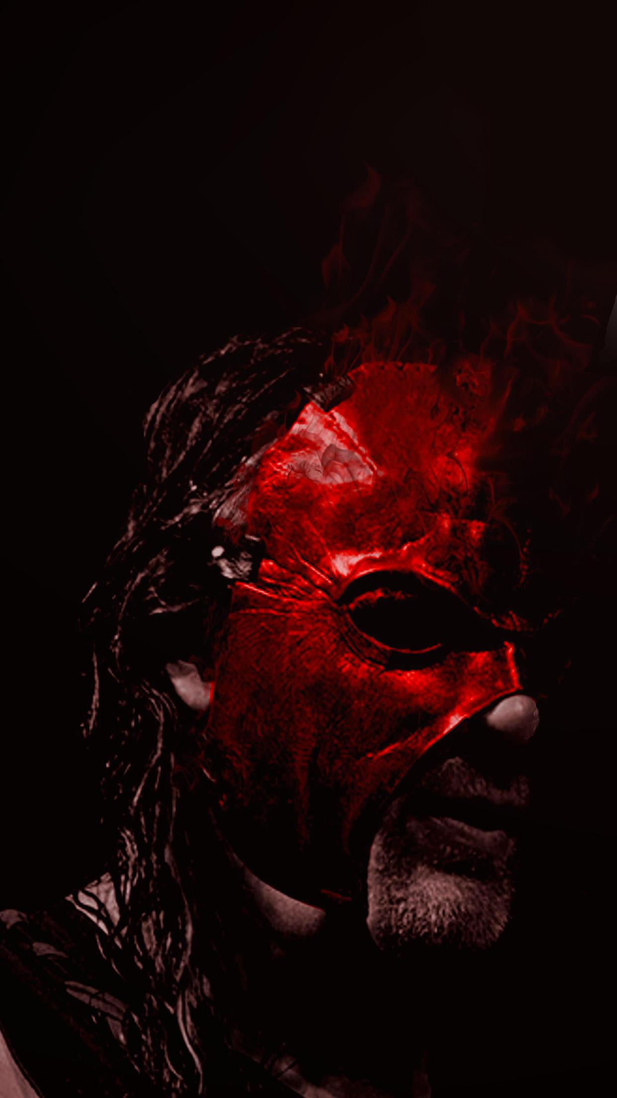 WWE Kane iPhone 3Wallpapers Parallax WWE Kane