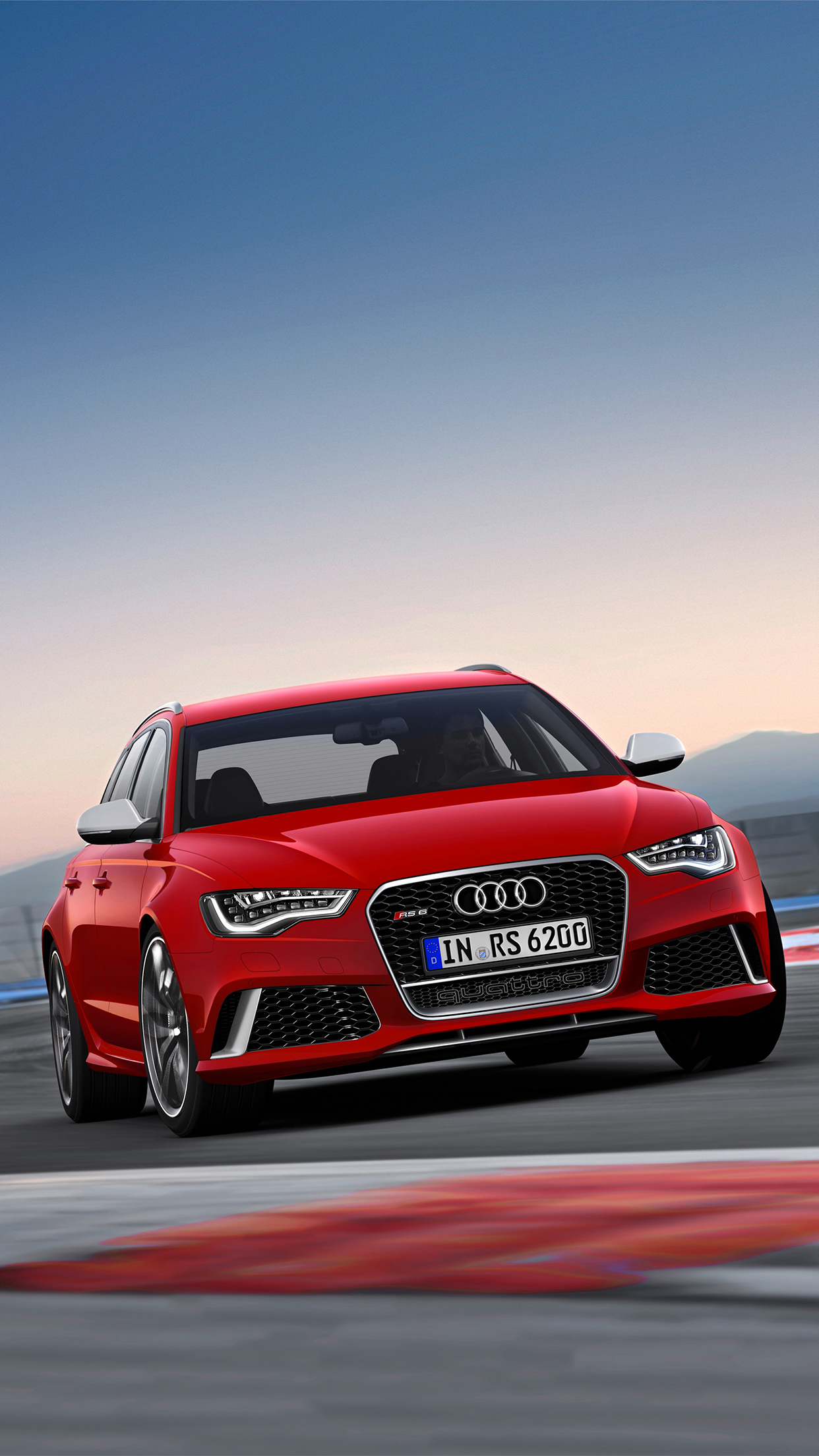 Audi RS6 iPhone 3Wallpapers Parallax Audi RS6