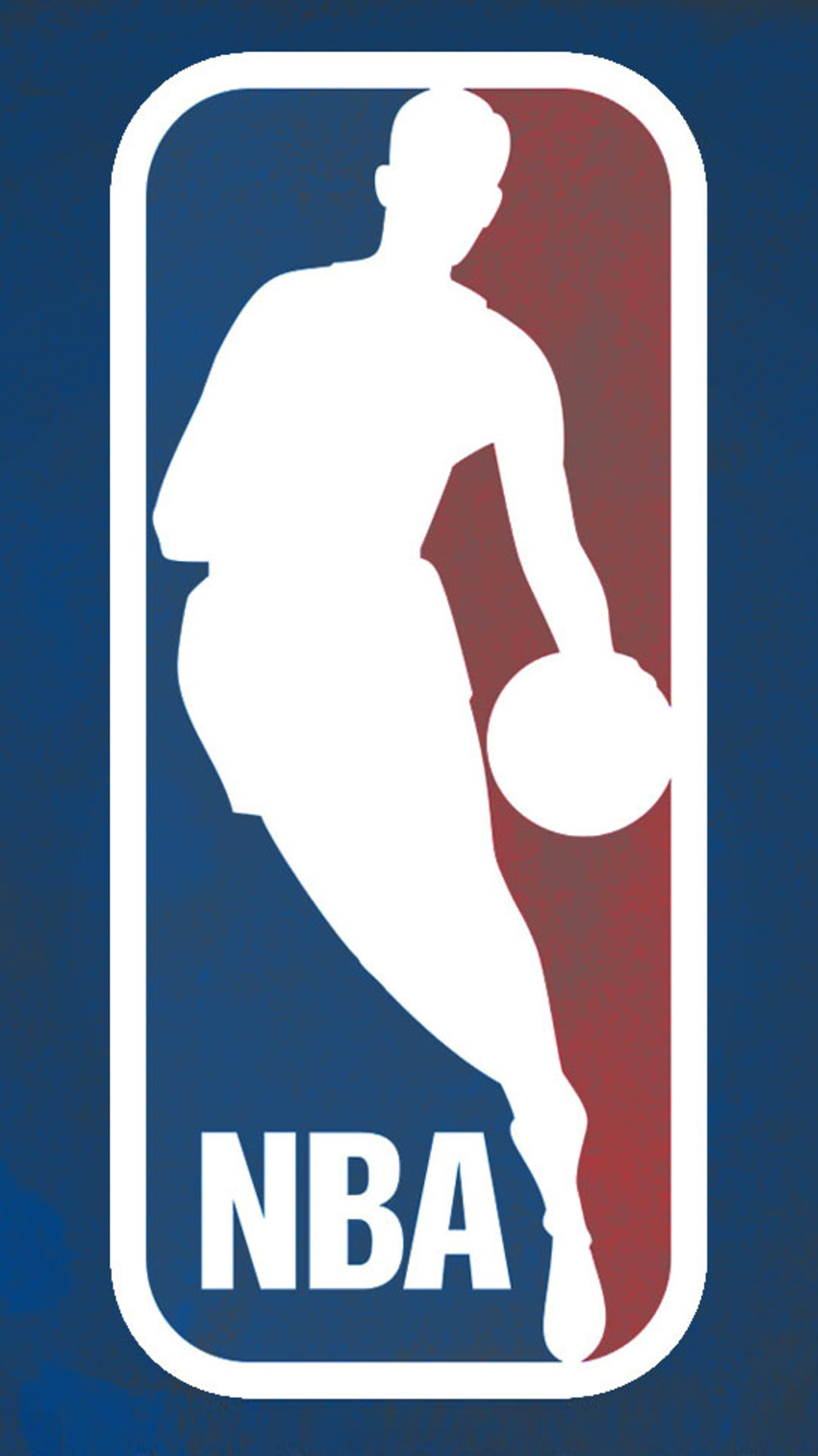 NBA Logo 3Wallpapers iPhone Parallax NBA Logo