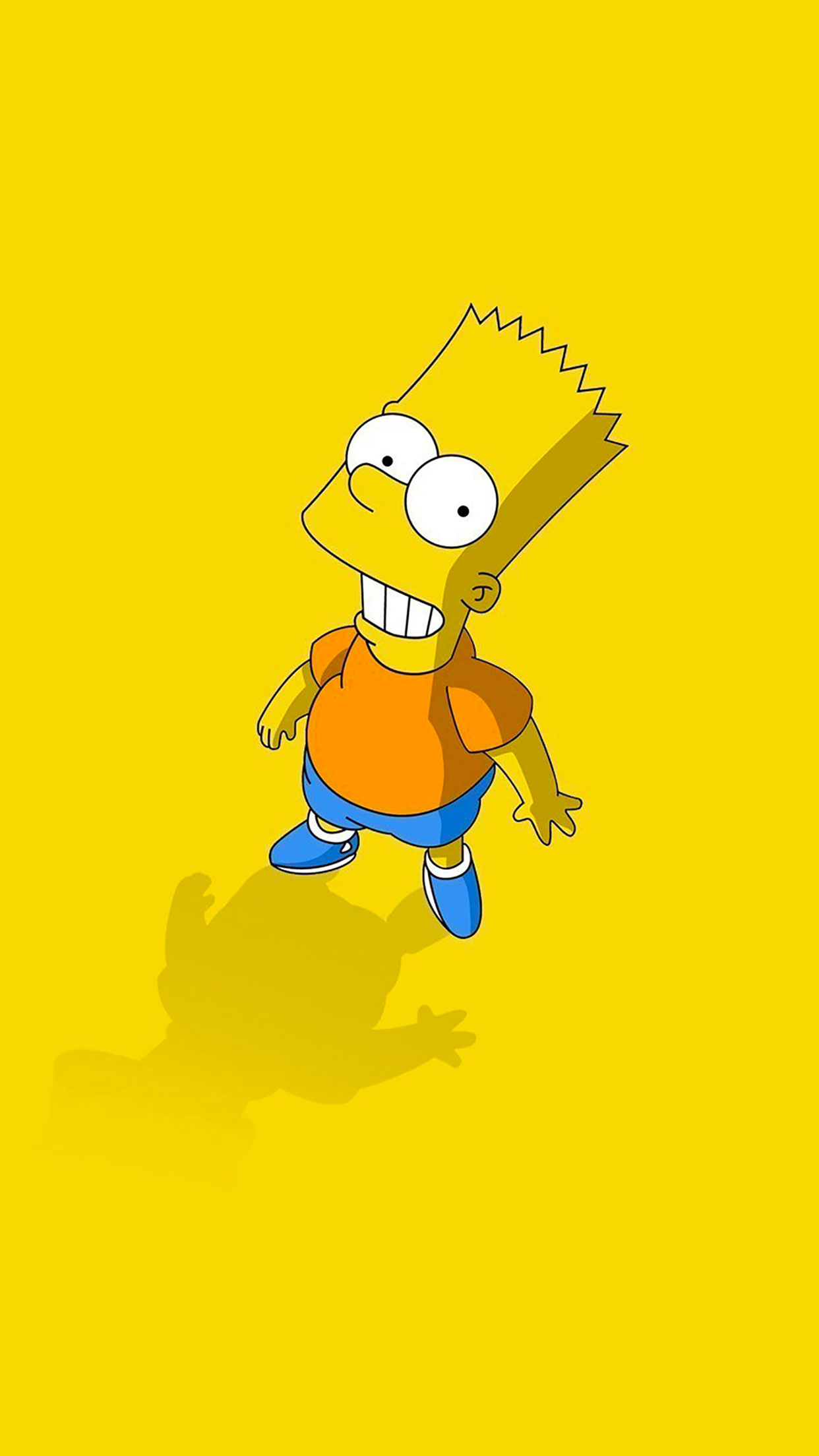 Simpsons Bart 3Wallpapers iPhone Parralax Simpsons Bart