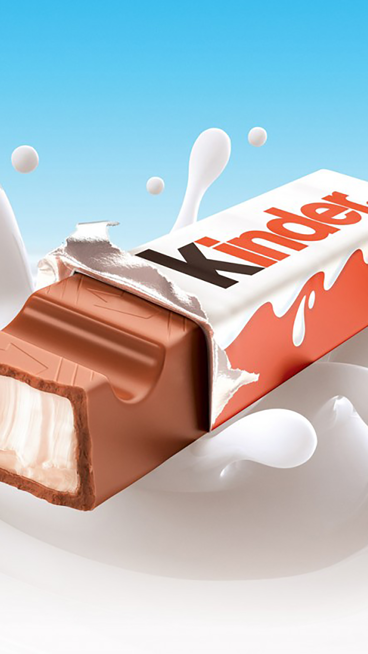 Kinder chocolate 3Wallpapers iPhone Parallax Kinder chocolate