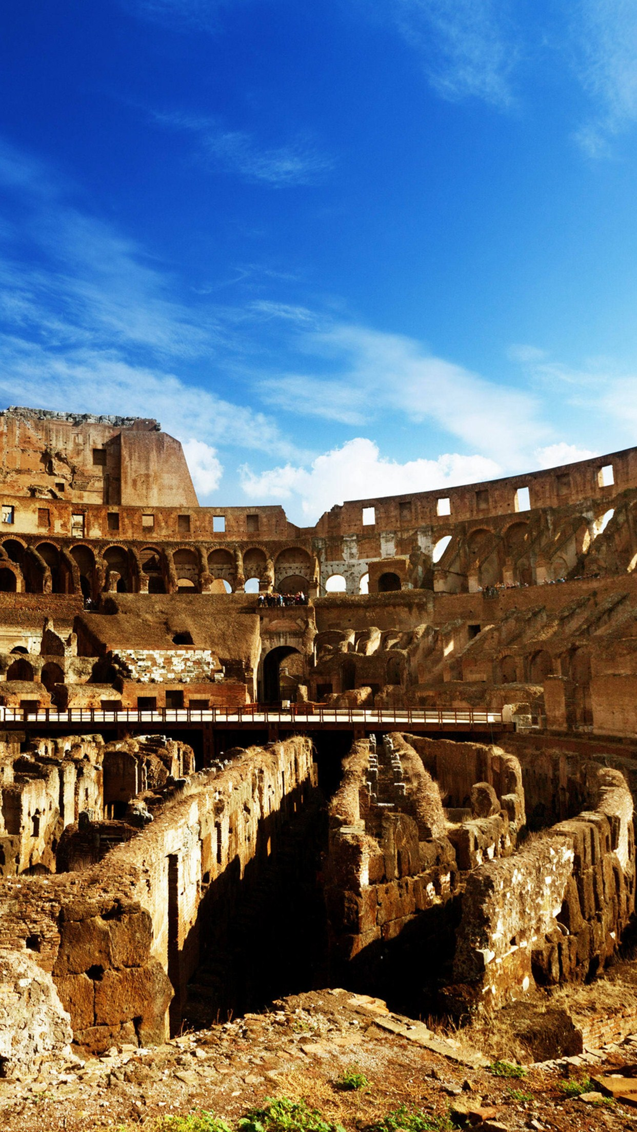 italie arene colisee 3Wallpapers iPhone Parallax Italy Arena Coliseum