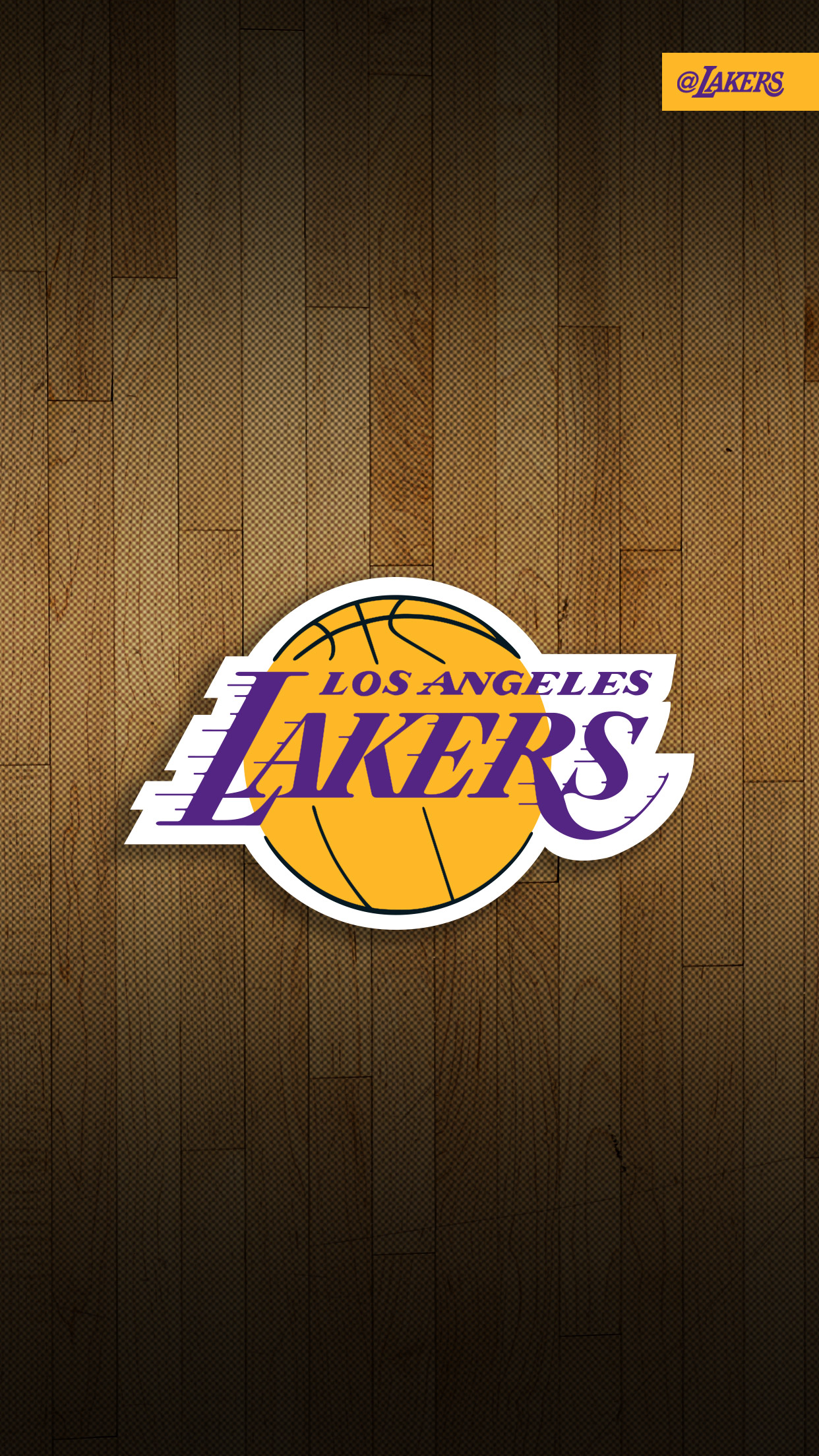 basketball lakers 3Wallpapers iPhone Parallax Basketball Lakers