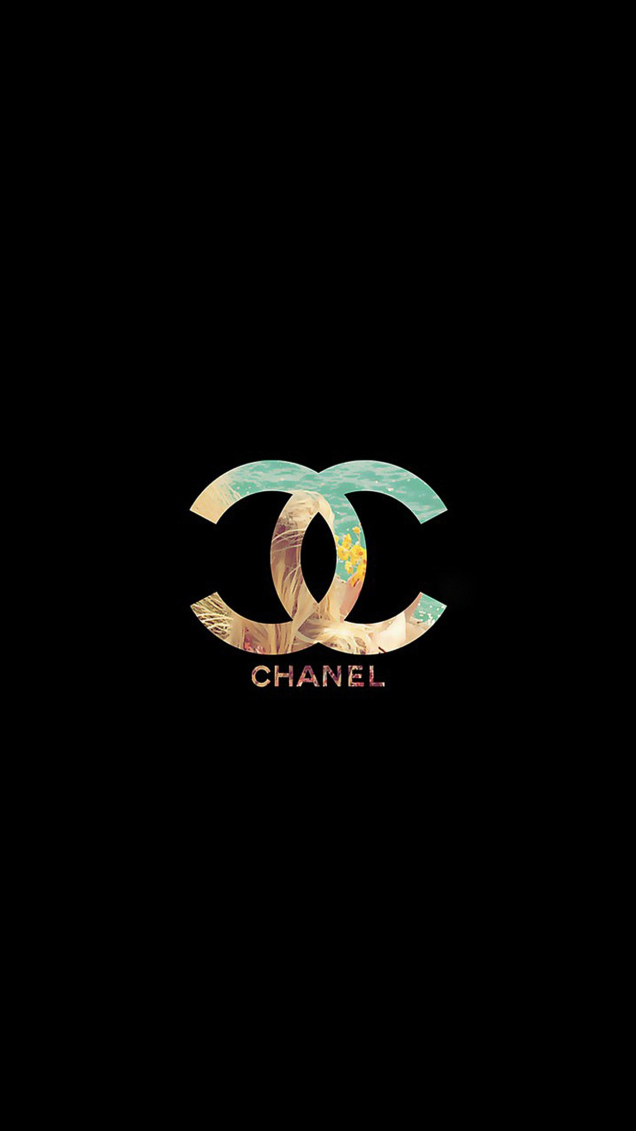 luxury chanel 3Wallpapers iPhone Parallax Luxury Chanel