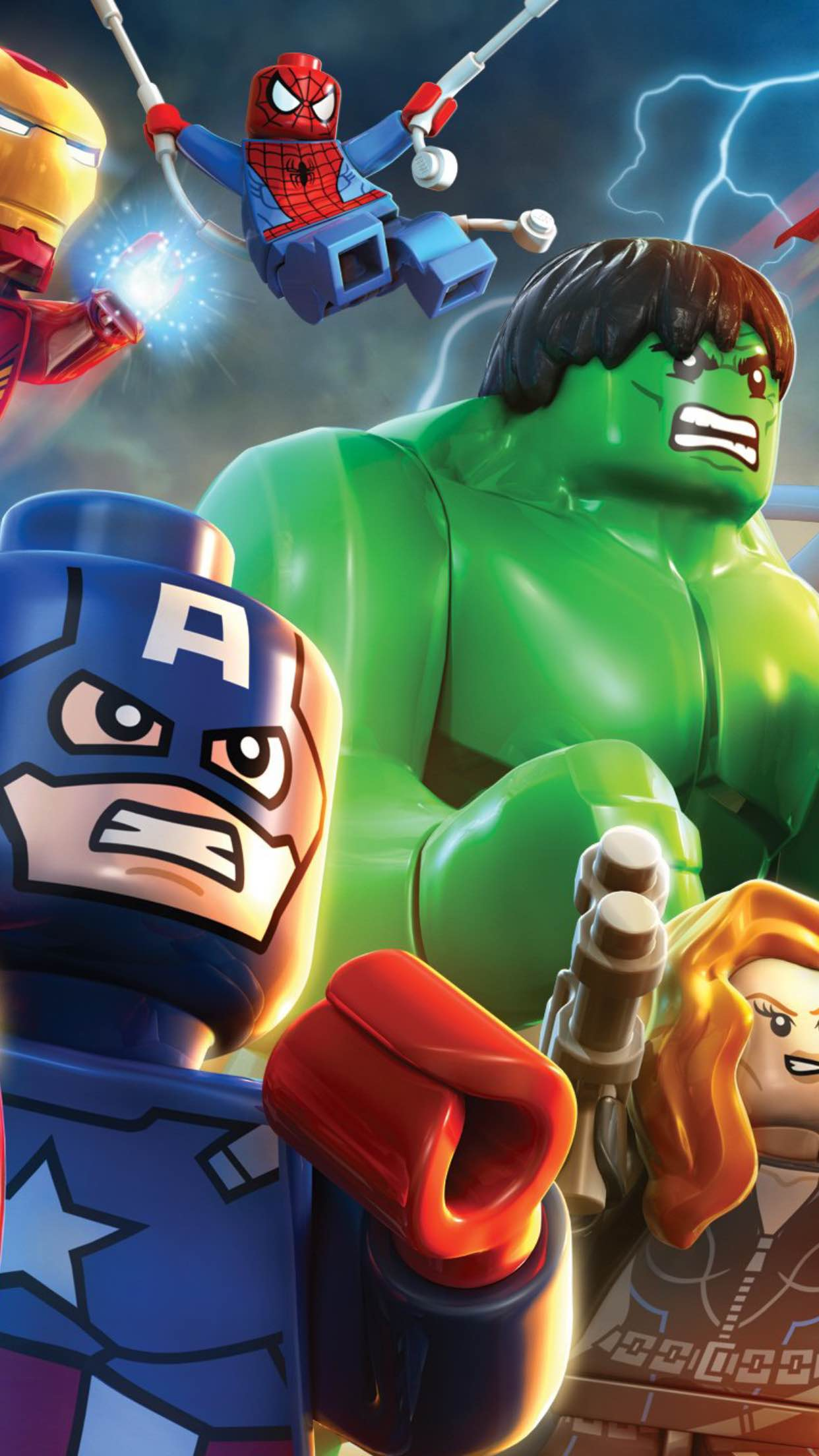 lego avengers 3Wallpapers iPhone Parallax Lego Avengers