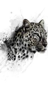 Léopard Léopard Dessin 3Wallpapers iPhone Parallax 169x300 leopard draw