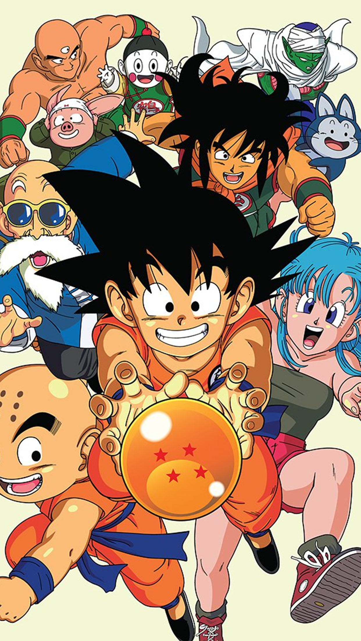 Dragon Ball Family Wallpaper For Iphone 11 Pro Max X 8 7 6 Free Download On 3wallpapers