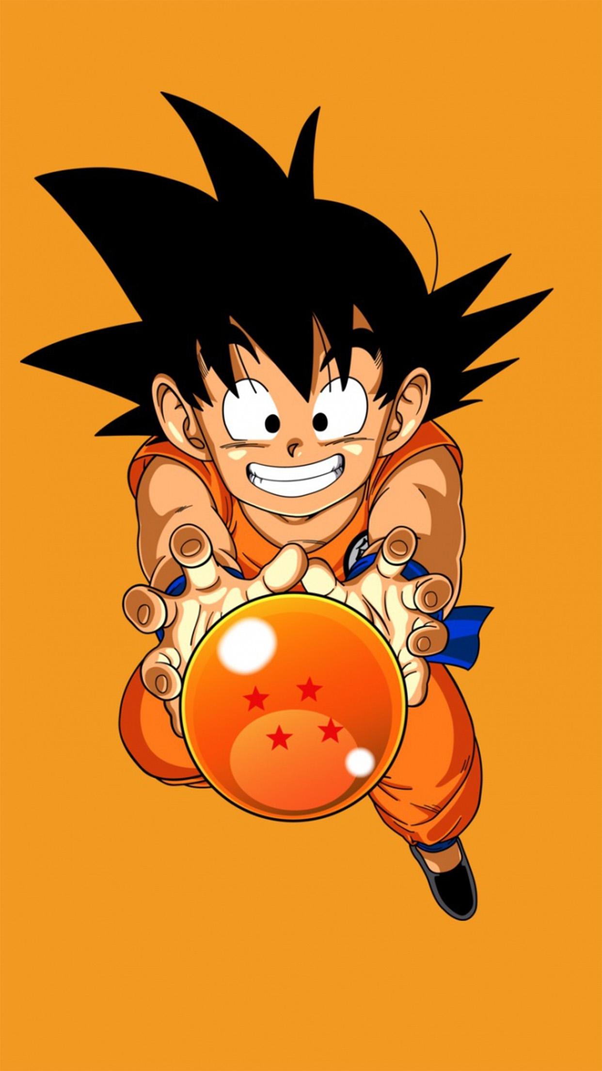 Dragon Ball Sangoku 3Wallpapers iPhone Parallax Sangoku