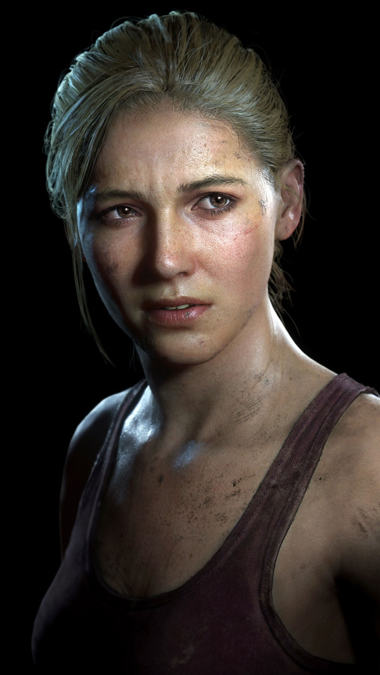 Uncharted Elena Fisher 3Wallpapers iPhone Parallax Elena Fisher