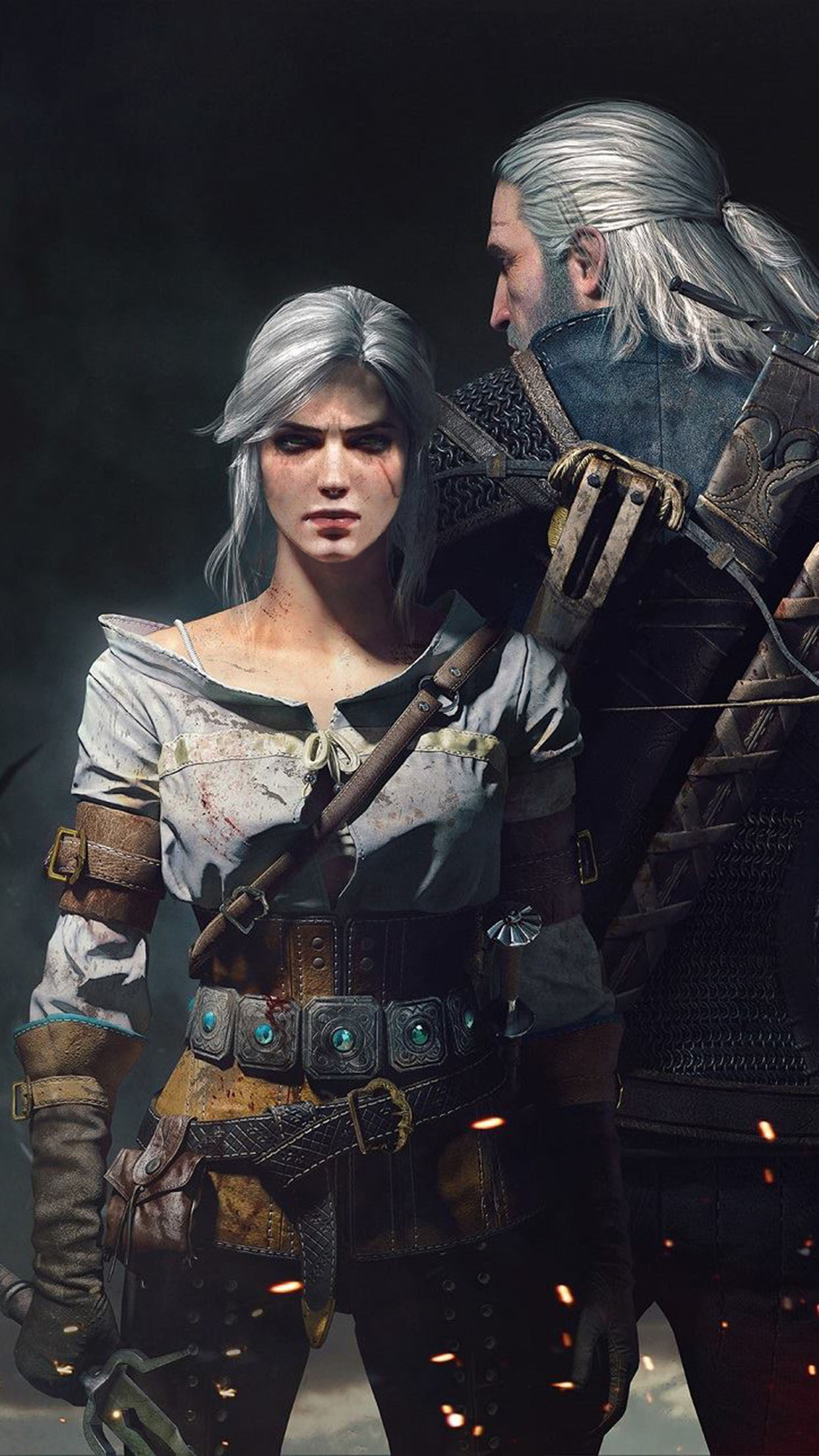 The Witcher 3 Wild Hunt The Witcher 3 2 3Wallpapers iPhone Parallax The Witcher 3: Wild Hunt (2)