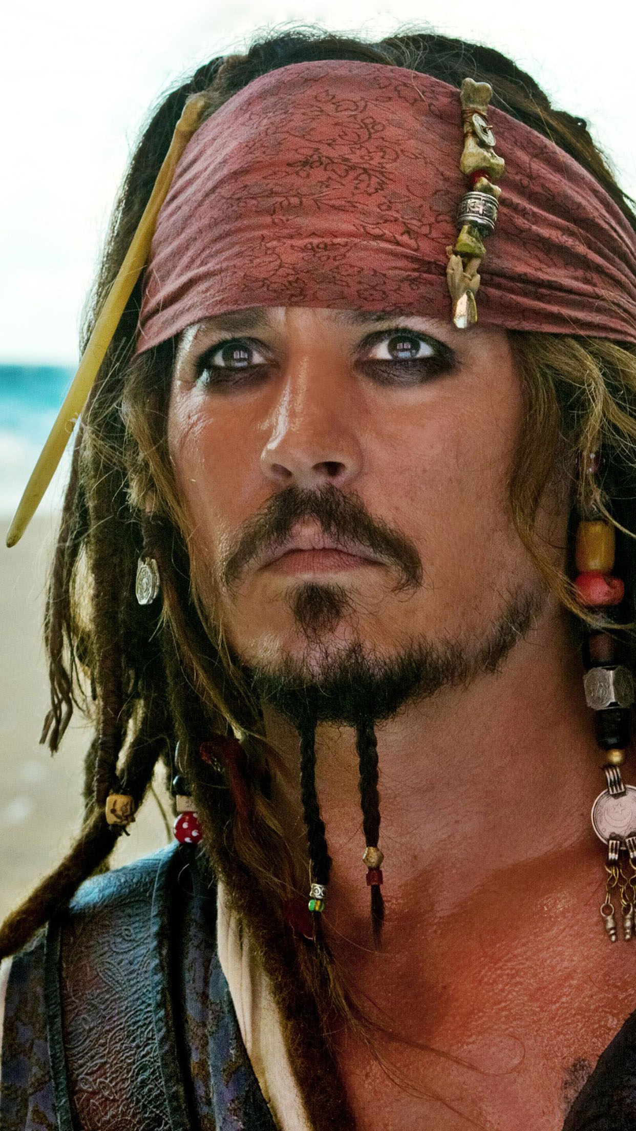 Captain Jack Sparrow Captain Jack Sparrow 1 3Wallpapers iPhone Parallax Captain Jack Sparrow 1