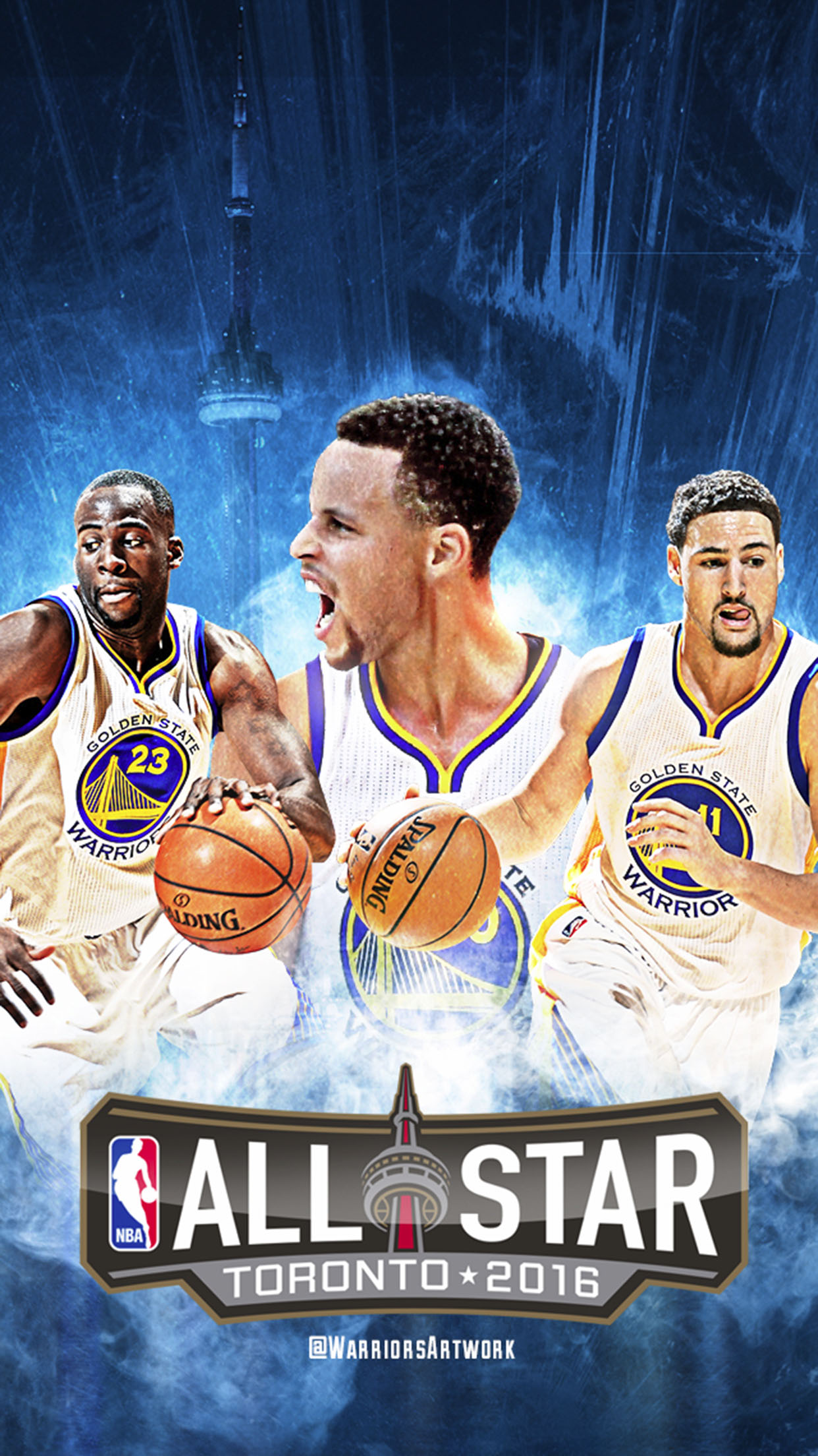 Golden State Warriors Gamers 3Wallpapers iPhone Parallax Golden State Warriors: Gamers