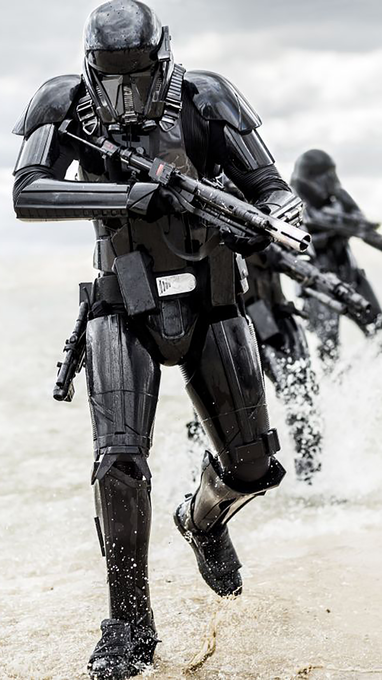 Star Wars Rogue One Robots 3Wallpapers iPhone Parallax Star Wars Rogue One : Robots