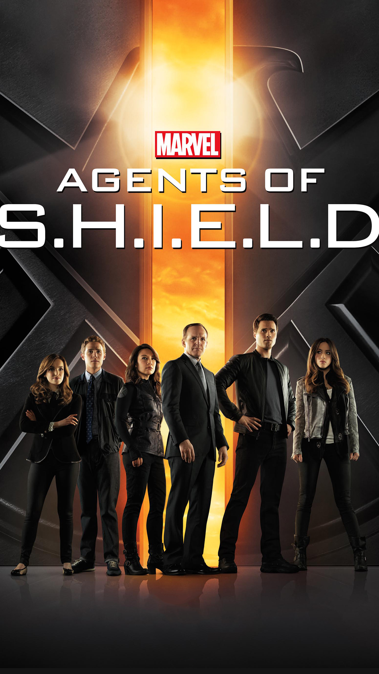 Agents Of Shield Poster 3Wallpapers iPhone Parallax Agents Of Shield : Poster