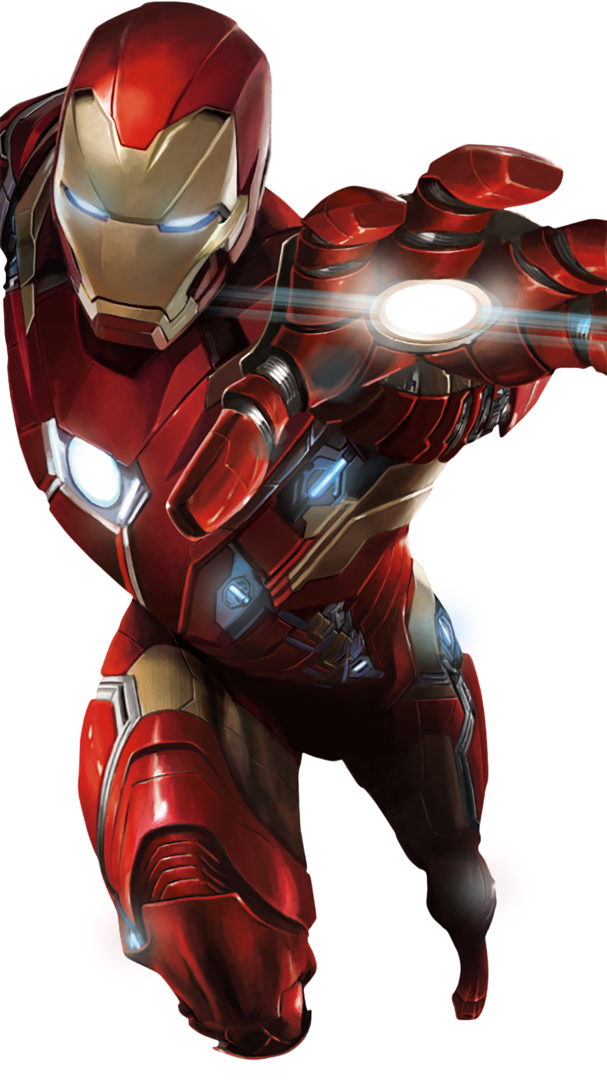 Iron Man Flying 3Wallpapers iPhone Parallax Iron Man : Flying