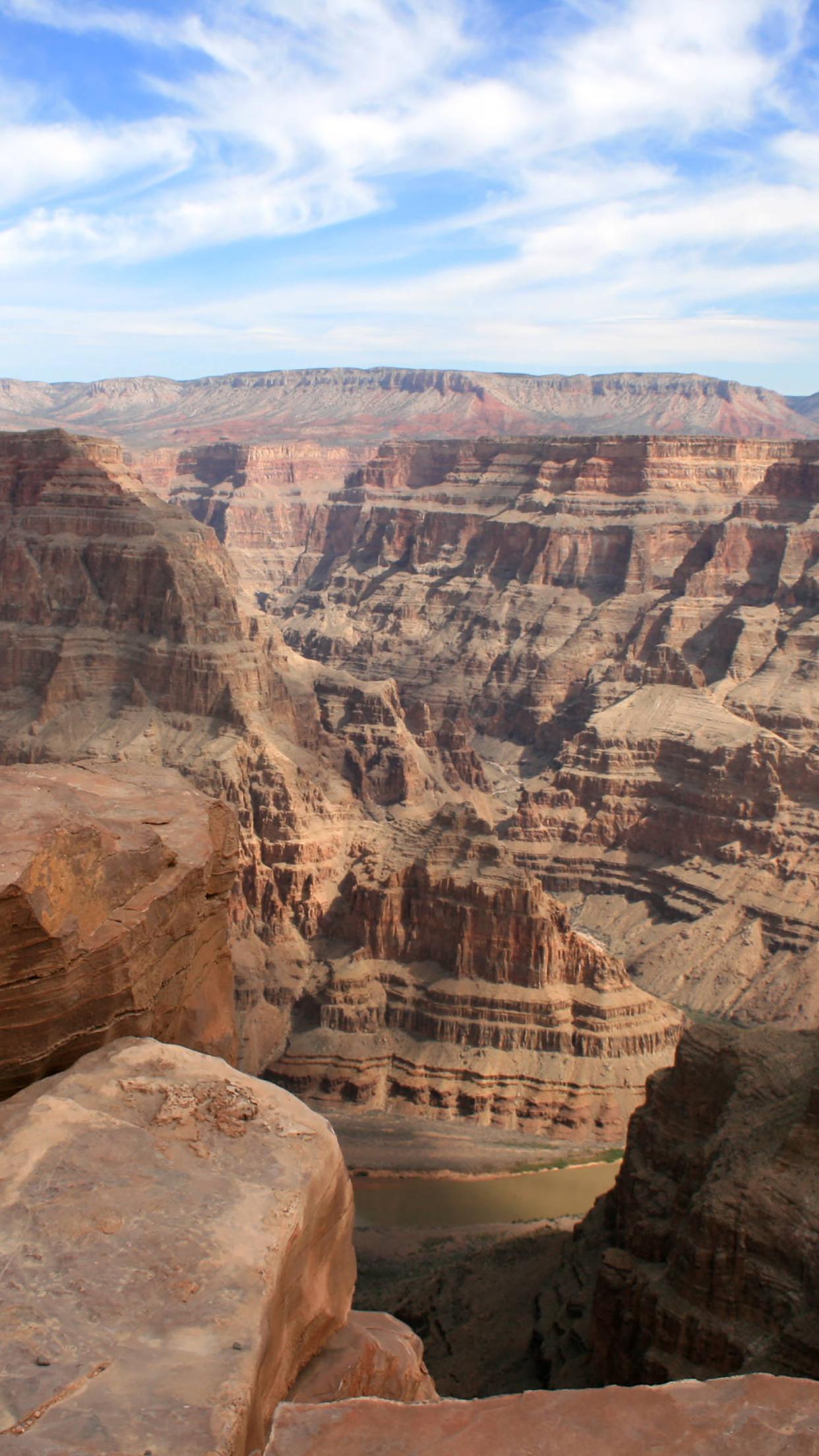 Canyon 1 3Wallpapers iPhone Parallax Canyon : 1