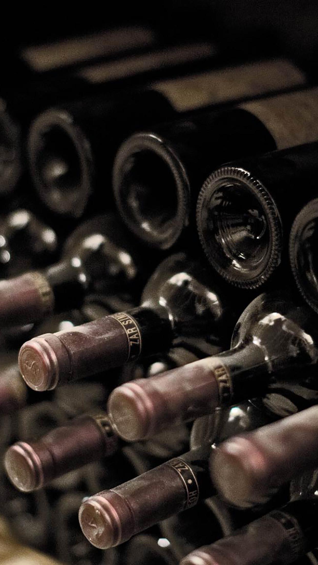 Wine Cellar 3 3Wallpapers iPhone Parallax Wine Cellar : 3