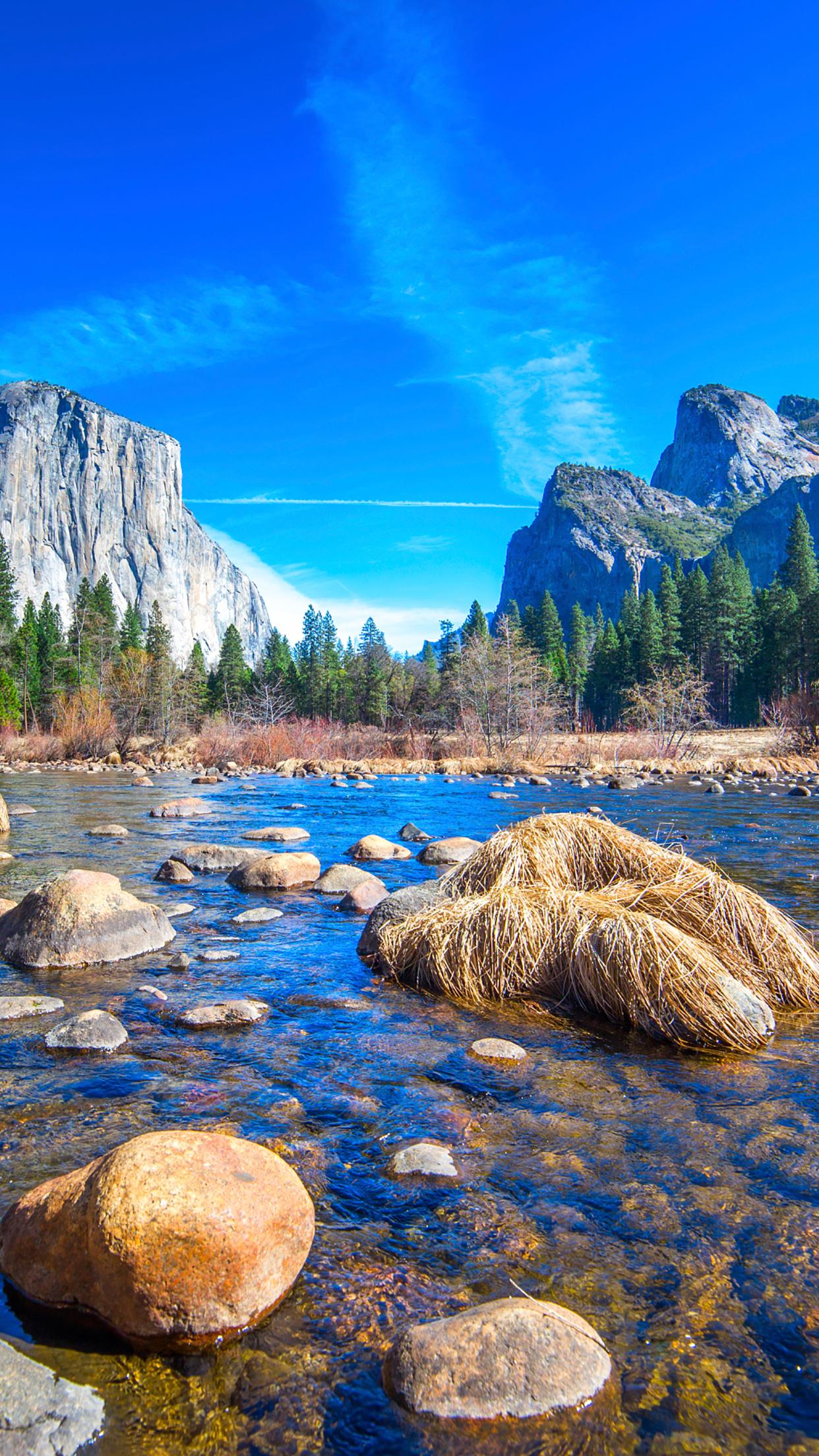 Yosemite Park 1 3Wallpapers iPhone Parallax Yosemite Park : 1