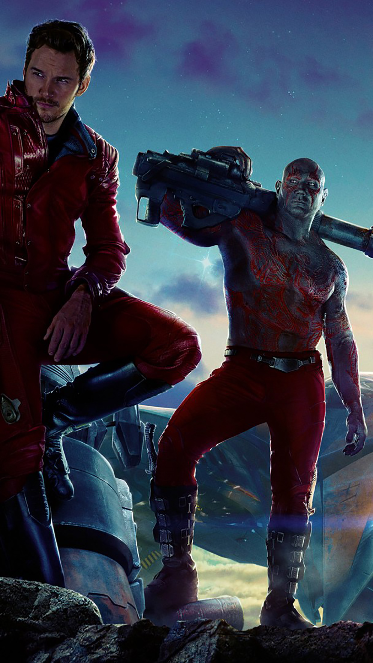 Guardians Of The Galaxy Poster 2 3Wallpapers iPhone Parallax Guardians Of The Galaxy : Poster 2