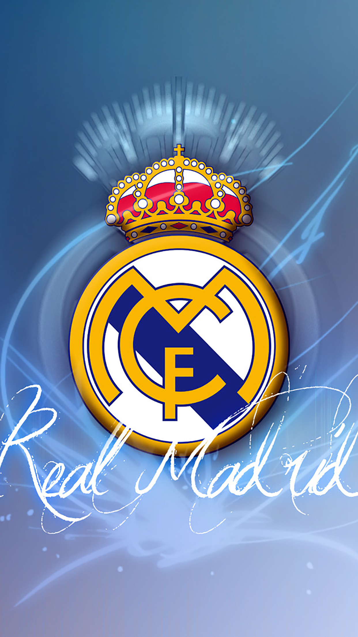 Real Madrid Logo 1 Wallpaper For Iphone 11 Pro Max X 8 7 6 Free Download On 3wallpapers