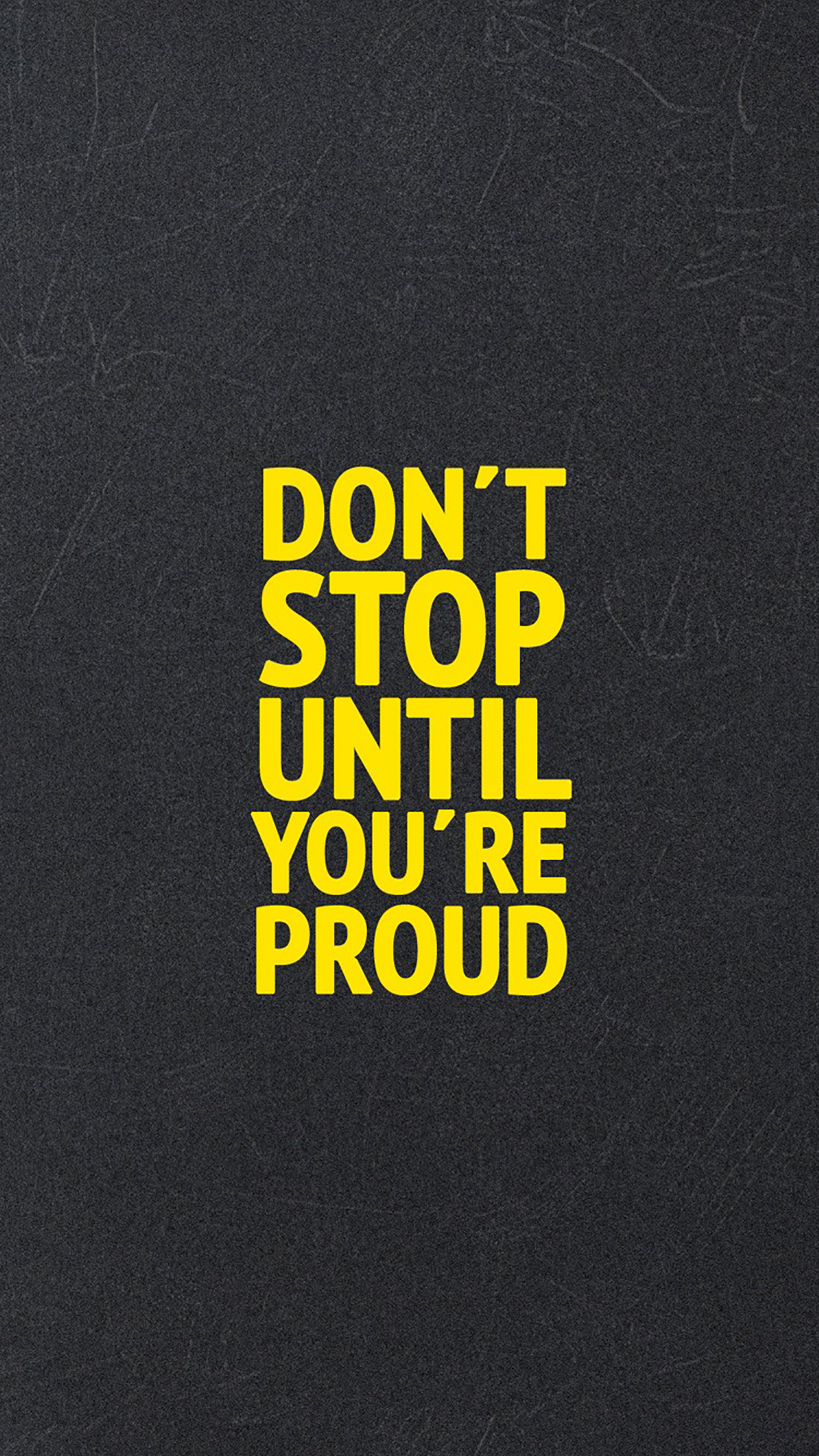 Advices Dont Stop Until You Are Proud 3Wallpapers iPhone Parallax Advices : Dont Stop Until You Are Proud