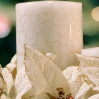 Candle : Flowers