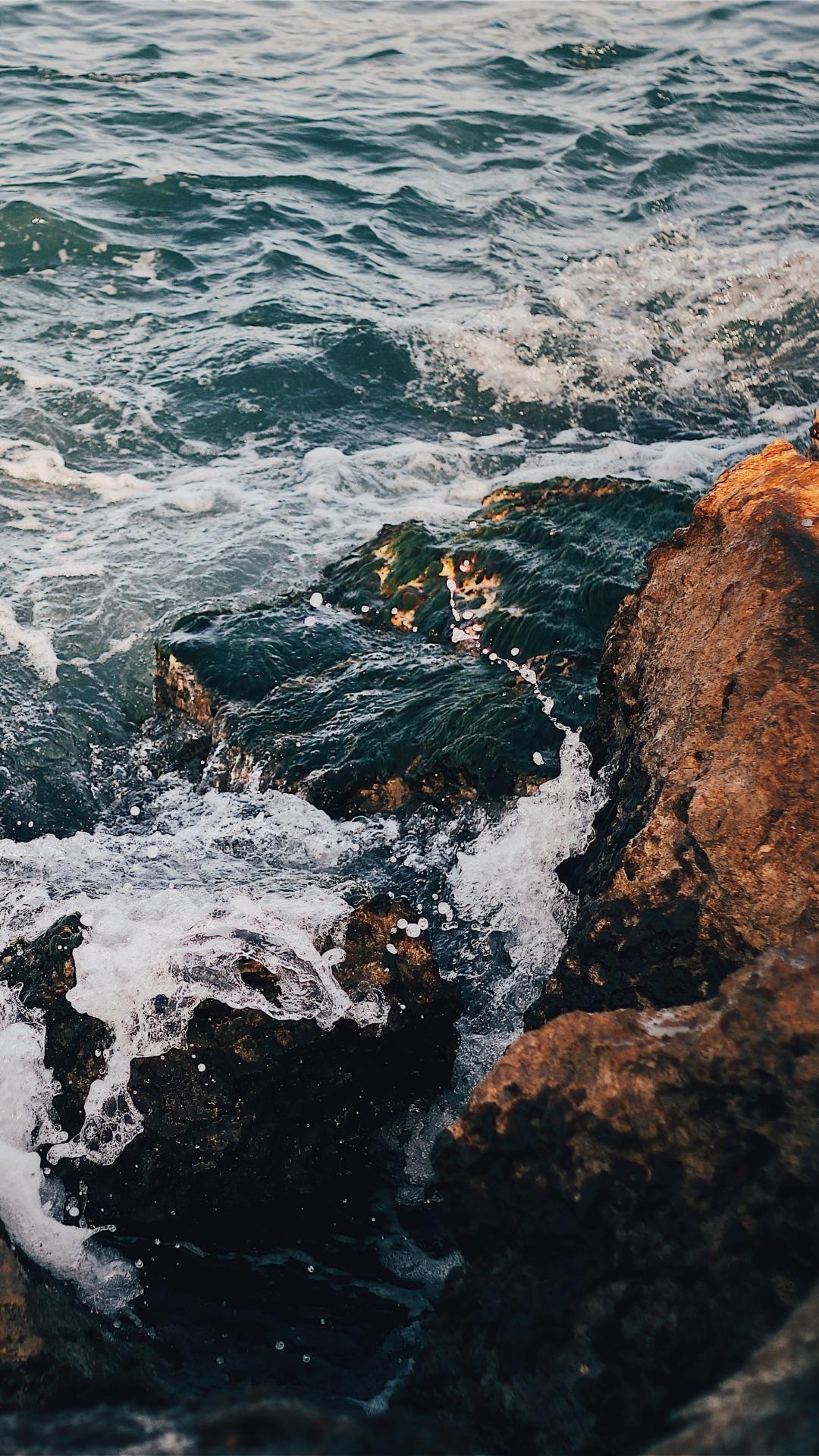 rocks sea surf 117352 1080x1920 Rocks