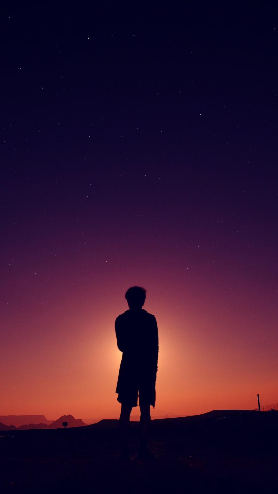 silhouette man night 115446 1080x1920 Silhouette