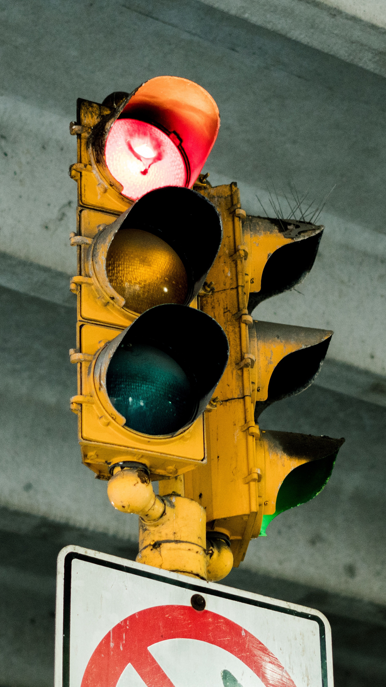 Traffic Light Sign 3Wallpapers iPhone Parallax Traffic Light : Sign