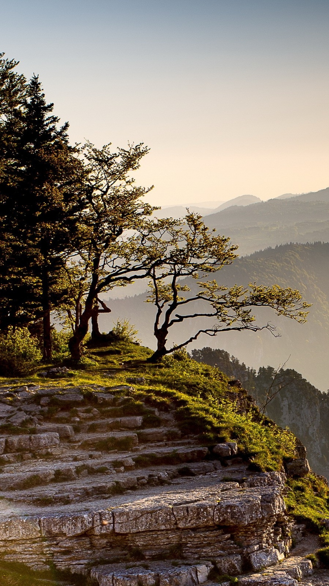 cliff mountain rock grass Mountain